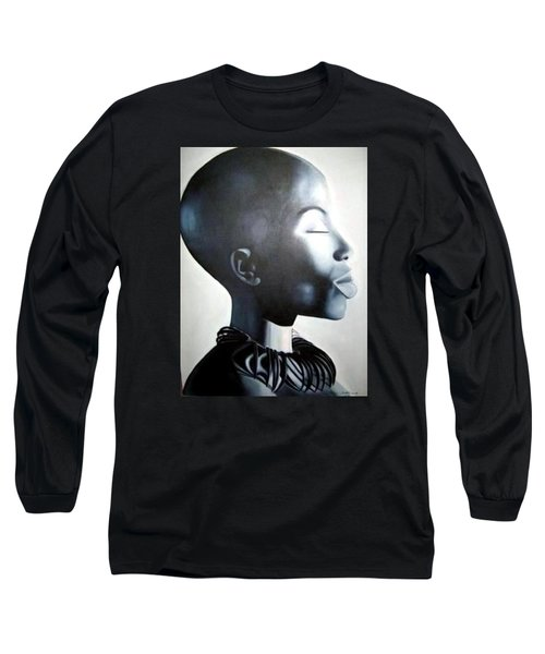 African Elegance - Original Artwork Long Sleeve T-Shirt