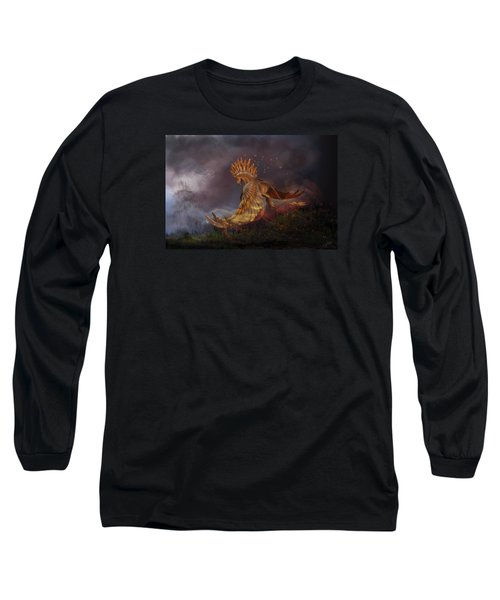 Back From The Nightmare Long Sleeve T-Shirt by Kate Black