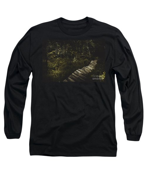 Ballroom Forest On The Dove Lake Walking Track Long Sleeve T-Shirt