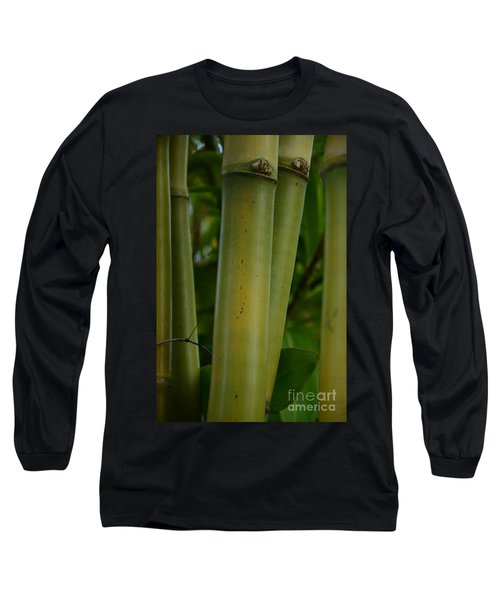 Long Sleeve T-Shirt featuring the photograph Bamboo II by Robert Meanor