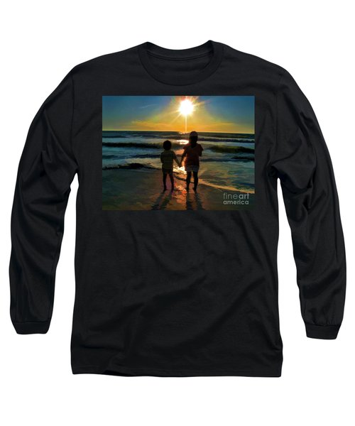Beach Kids Long Sleeve T-Shirt