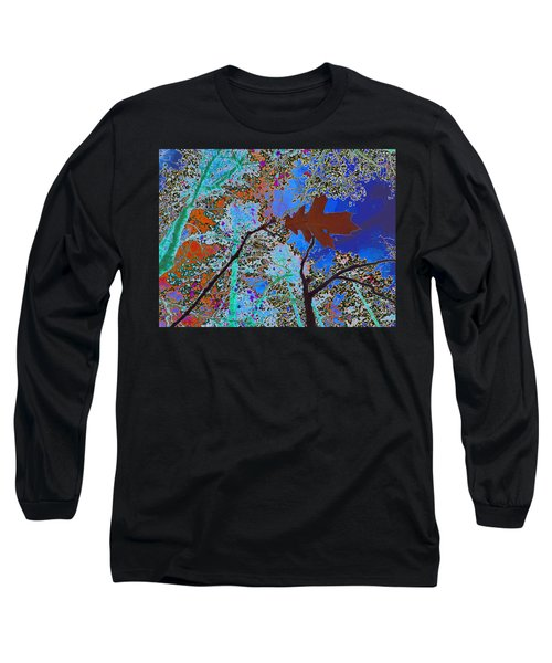 before the descent BLUE Long Sleeve T-Shirt