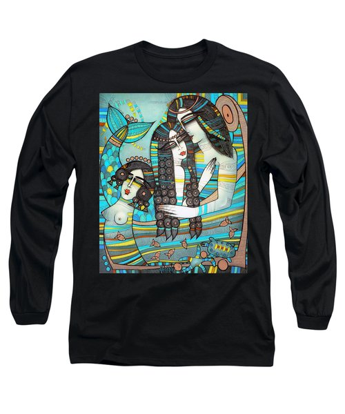 Beyond The Oceans... Long Sleeve T-Shirt