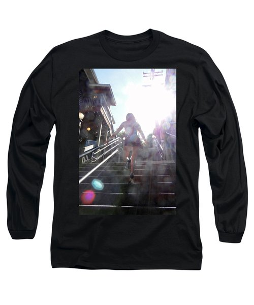 Long Sleeve T-Shirt featuring the photograph Blink by Nick David