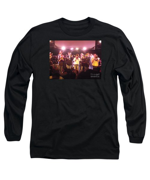 Bonerama At The Old Rock House Long Sleeve T-Shirt by Kelly Awad