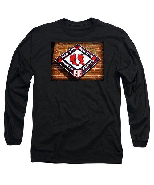 Boston Red Sox 1912 World Champions Long Sleeve T-Shirt by Stephen Stookey
