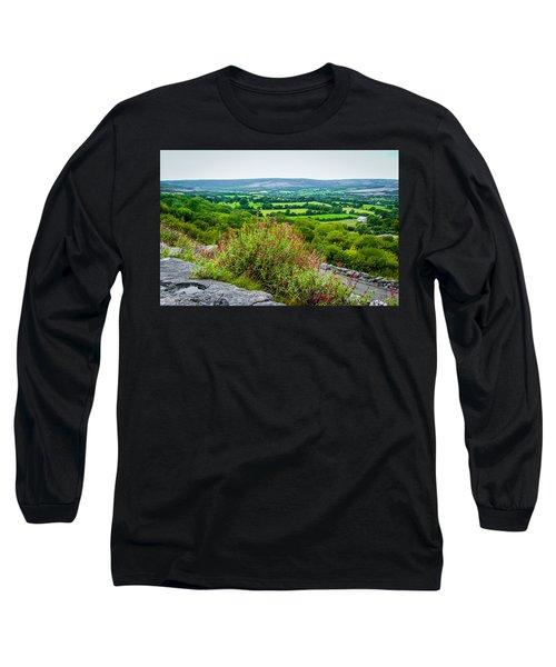 Burren National Park's Lovely Vistas Long Sleeve T-Shirt