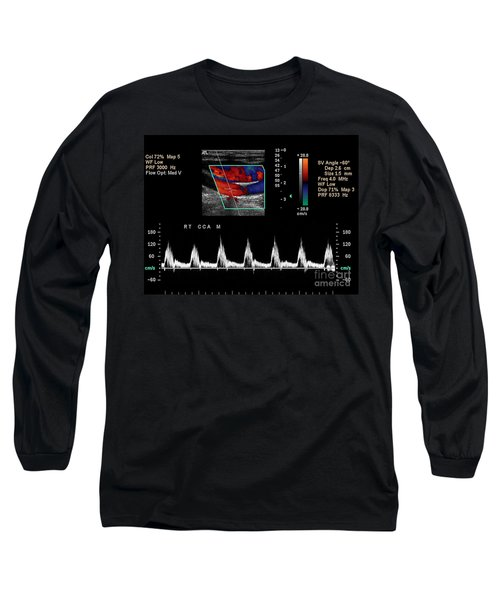 Carotid Duplex Ultrasound Exam Long Sleeve T-Shirt