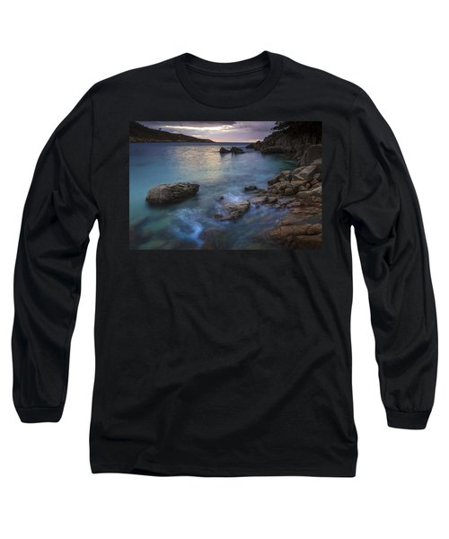 Chanteiro Beach Galicia Spain Long Sleeve T-Shirt