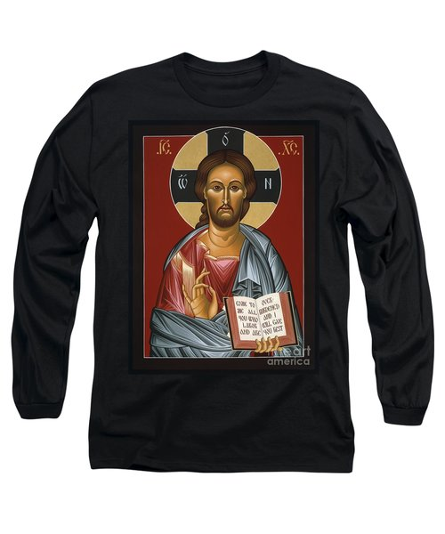 Christ All Merciful 022 Long Sleeve T-Shirt