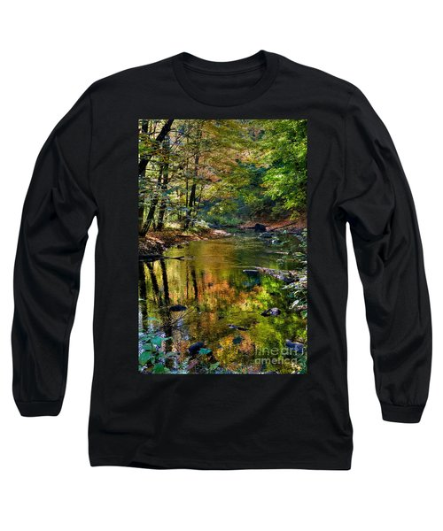 Long Sleeve T-Shirt featuring the photograph Color Creek by Robert Pearson