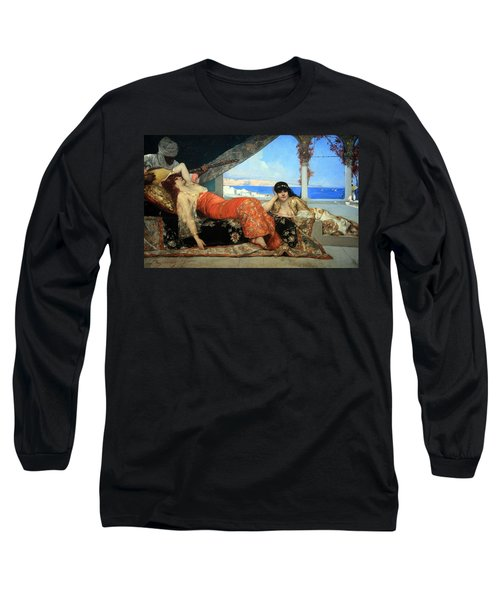 Constant's The Favorite Of The Emir Long Sleeve T-Shirt by Cora Wandel