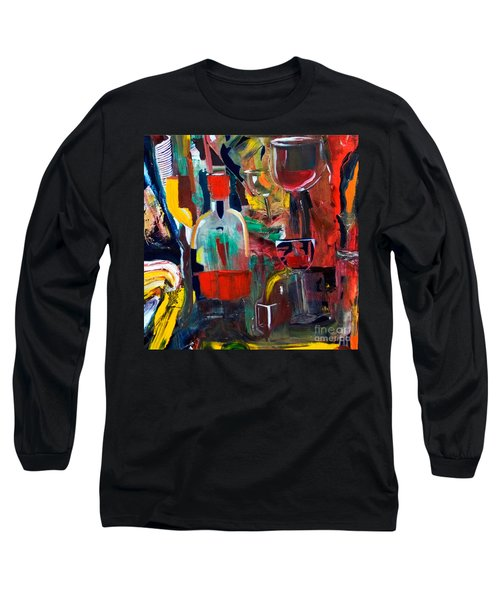 Cut IIi Wine Woman And Music Long Sleeve T-Shirt
