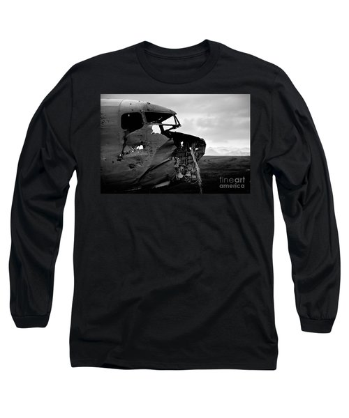 Long Sleeve T-Shirt featuring the photograph Dc 3 Iceland by Gunnar Orn Arnason