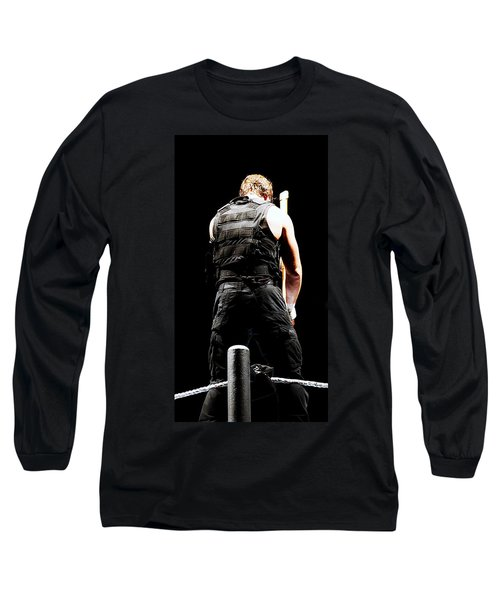 Dean Ambrose Long Sleeve T-Shirt by Paul  Wilford