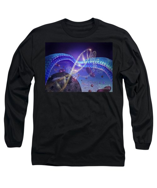 Dna And Chromosomes Long Sleeve T-Shirt