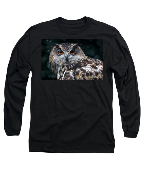 European Eagle Owl Long Sleeve T-Shirt