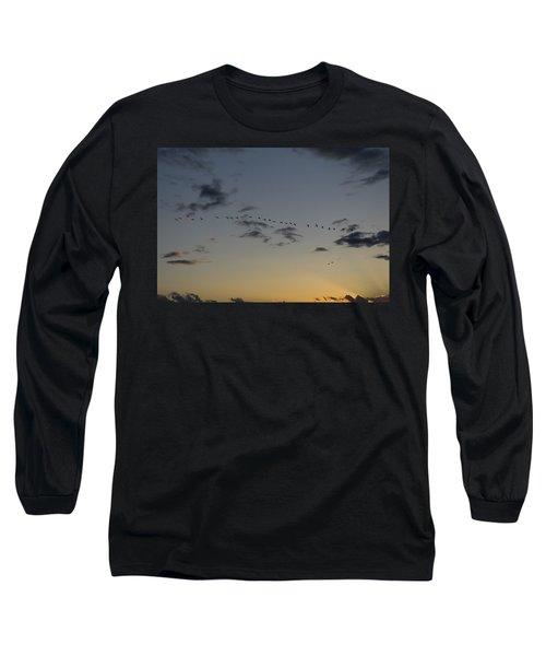 Evening Flight Long Sleeve T-Shirt