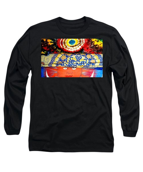 Long Sleeve T-Shirt featuring the photograph Eye On Fabrics by Michael Hoard