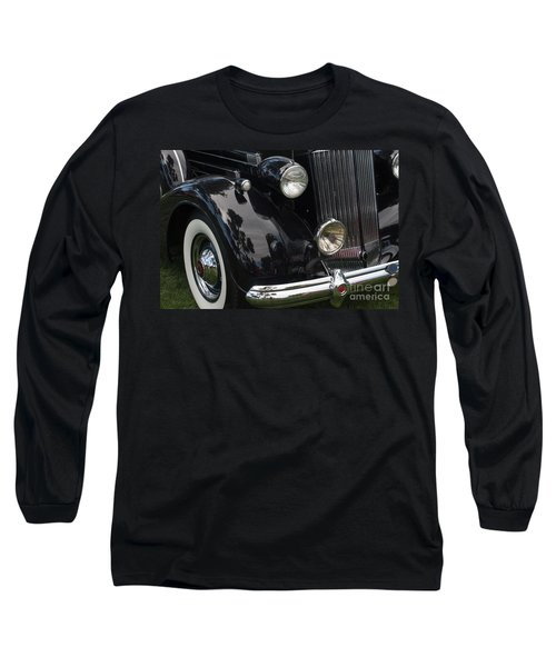 Long Sleeve T-Shirt featuring the photograph Front Side Of A Classic Car by Gunter Nezhoda