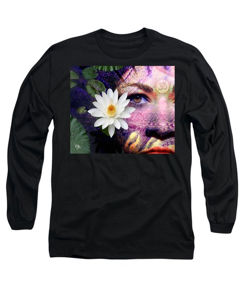 Full Moon Lakshmi Long Sleeve T-Shirt