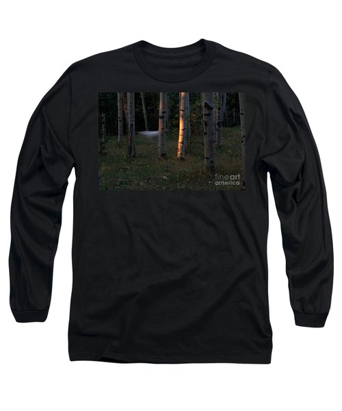 Ghostly Apparition Long Sleeve T-Shirt