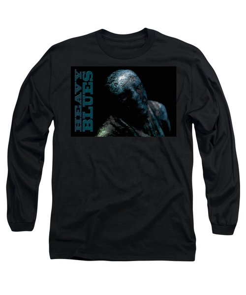 Long Sleeve T-Shirt featuring the photograph Heavy Blues by WB Johnston