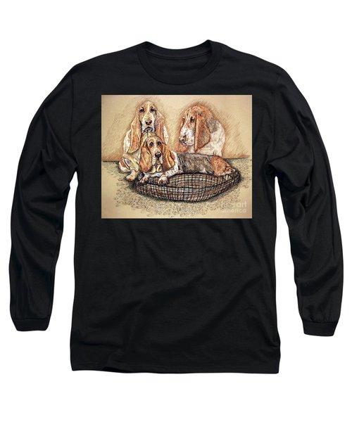 Hess'er Puppies Long Sleeve T-Shirt