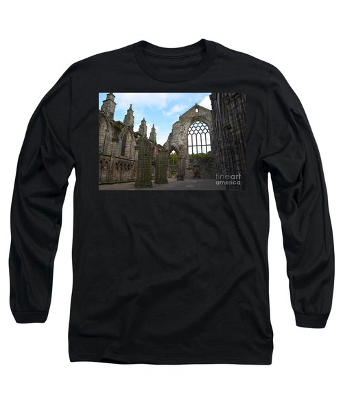 Holyrood Abbey Ruins Long Sleeve T-Shirt