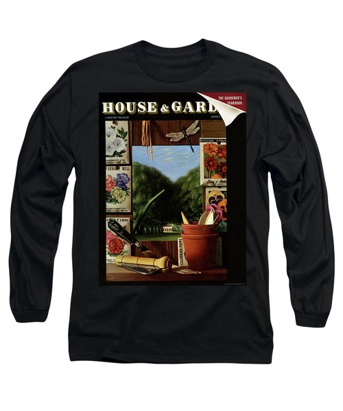 House And Garden Cover Long Sleeve T-Shirt