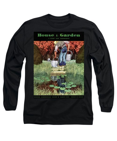 House And Garden Spring Gardening Guide Cover Long Sleeve T-Shirt