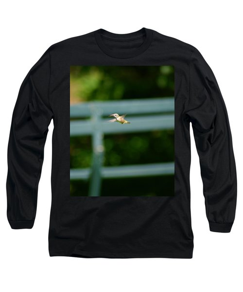 Hummer In Flight Long Sleeve T-Shirt