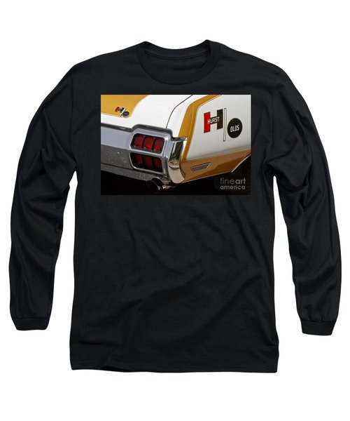 Hurst Olds Long Sleeve T-Shirt by Dennis Hedberg