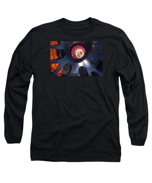 Hybrid Wheel  Long Sleeve T-Shirt by John Schneider