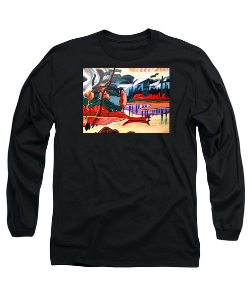 Island Fantasy Long Sleeve T-Shirt
