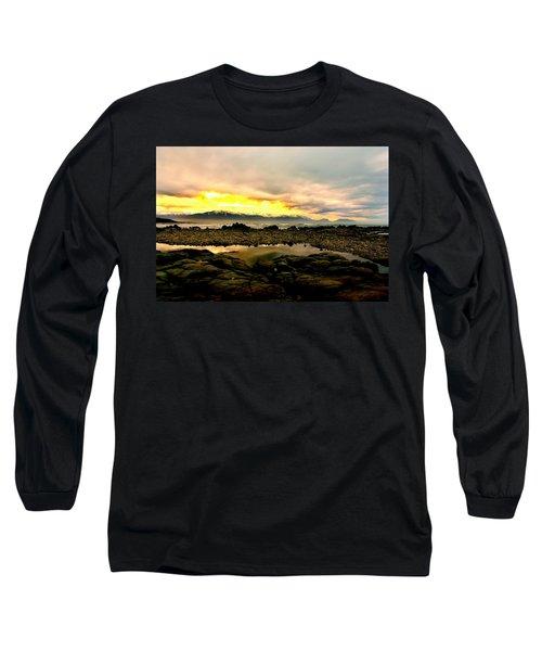 Long Sleeve T-Shirt featuring the photograph Kaikoura Coast New Zealand by Amanda Stadther