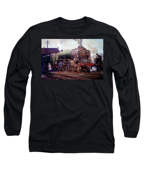 Kenilworth On Shed. Long Sleeve T-Shirt by Mike  Jeffries