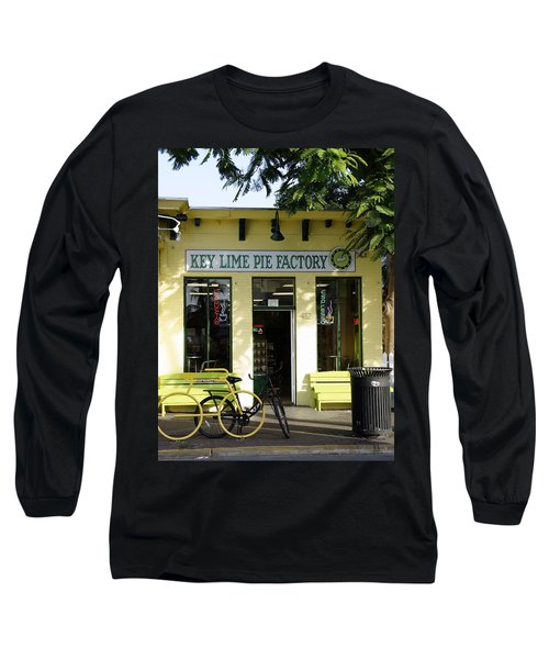 Key Lime Pie Long Sleeve T-Shirt