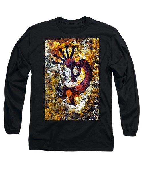 Kokopelli The Flute Player Long Sleeve T-Shirt