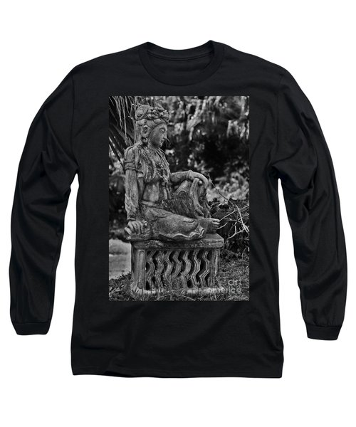 Kwan Yin Long Sleeve T-Shirt by Craig Wood