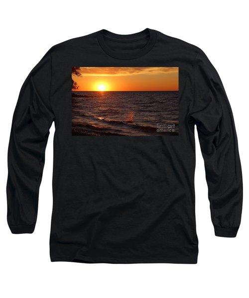 Lake Ontario Sunset Long Sleeve T-Shirt