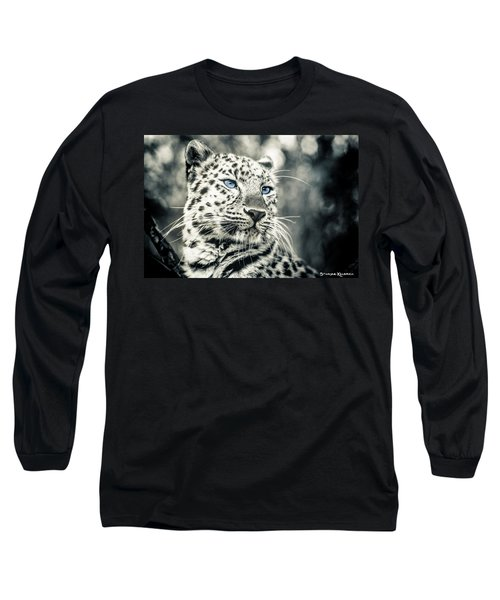 Long Sleeve T-Shirt featuring the photograph Love Panther by Stwayne Keubrick