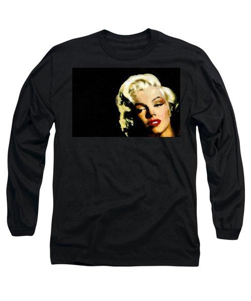 Marilyn Monroe Long Sleeve T-Shirt by Georgi Dimitrov