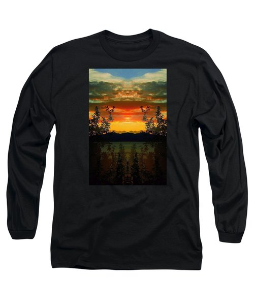 Long Sleeve T-Shirt featuring the photograph Marsh Lake - Yukon by Juergen Weiss