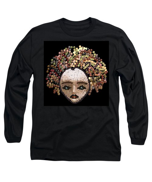 Medusa Bedazzled After Long Sleeve T-Shirt
