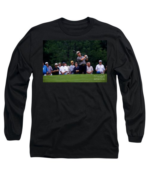 12w334 Jack Nicklaus At The Memorial Tournament Photo Long Sleeve T-Shirt
