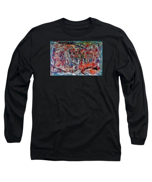 Nature Walk In The Yakima Delta Long Sleeve T-Shirt by Lisa Kaiser