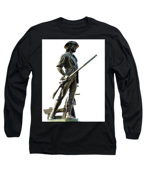 Minute Man Statue Concord Ma Long Sleeve T-Shirt