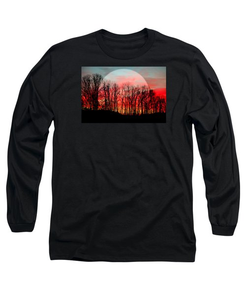 Moon Dance Long Sleeve T-Shirt by Karen Wiles