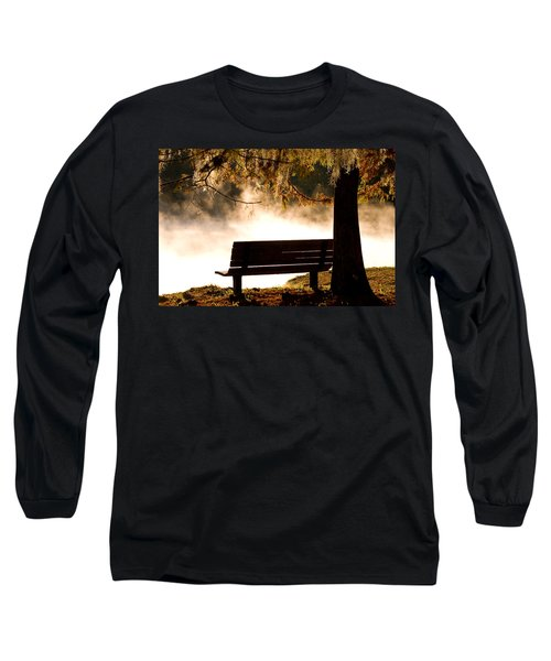Morning Mist At The Spring Long Sleeve T-Shirt